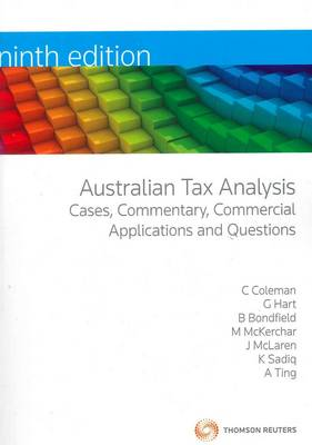 Aust Tax Analysis 9th Ed.