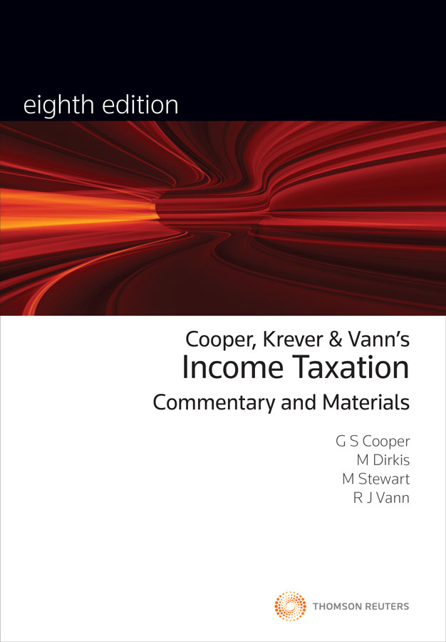 Income Taxation: Comm&Materials 8e