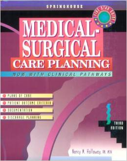 Medical Surgical Care Planning