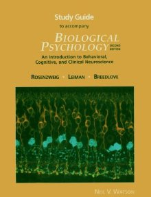 Biological Psychology: An Introduction to Behavioral, Cognitive and Clinical Neuroscience: Study Guide