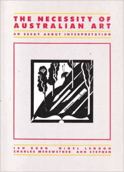 The Necessity of Australian Art: An Essay About Interpretation
