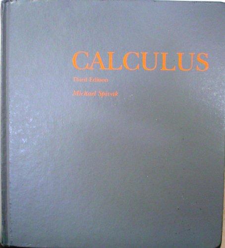 Calculus 3ed