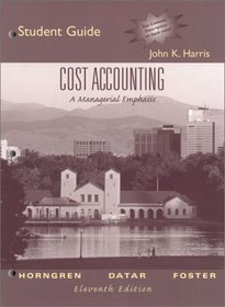 Cost Accounting 11ed Us And Student Solutions Manual 11ed Us