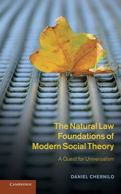 Natural Law Found Modern Social Thy