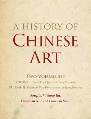 A History of Chinese Art 2 Volume Hardback Set