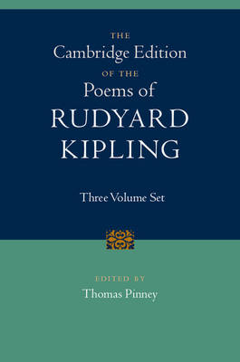 Camb Ed Poems Rudyard Kipling 3vHBs