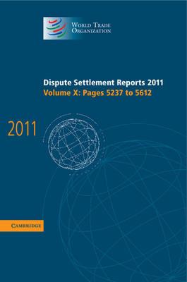 Dispute Settlement Reports 2011 v10