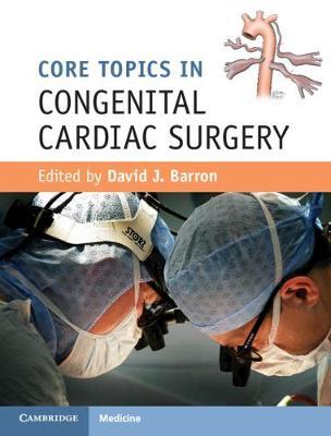Core Topics Congenital Crdiac Srgry