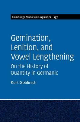 Gemination, Lenition, and Vowel Lengthening