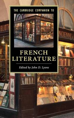 The Cambridge Companion to French Literature