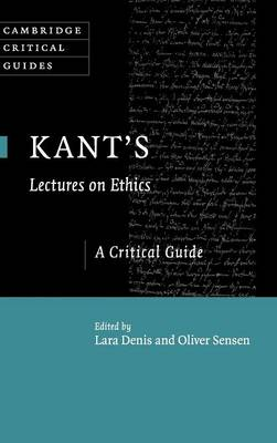 Kant's Lectures on Ethics: A Critical Guide