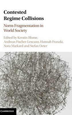 Contested Regime Collisions: Norm Fragmentation in World Society