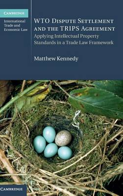 WTO Dispute Settlement and the TRIPS Agreement: Applying Intellectual Property Standards in a Trade Law Framework