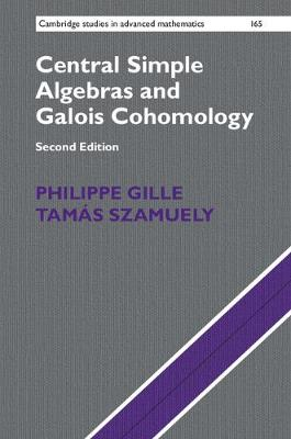 Cen Simp Algeb Galoi Cohomology 2ed