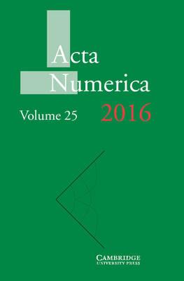 Acta Numerica 2016: Volume 25