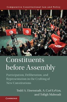 Constituents Before Assembly: Participation, Deliberation, and Representation in the Crafting of New Constitutions