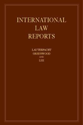 International Law Reports: Volume 168