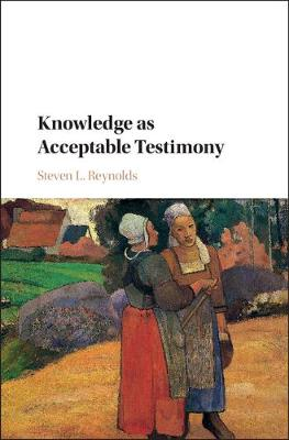 Knowledge as Acceptable Testimony