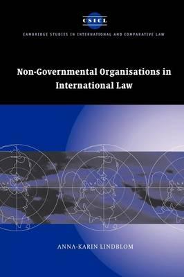 Non Goverment Orgs Intntl Law
