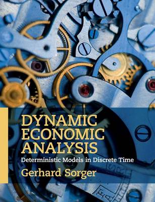Dynamic Economic Analysis: Deterministic Models in Discrete Time