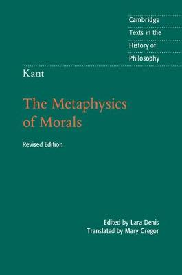 Kant: The Metaphysics of Morals 2ed