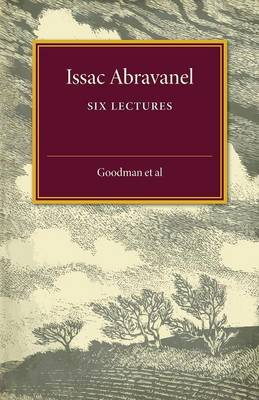 Isaac Abravanel: Six Lectures