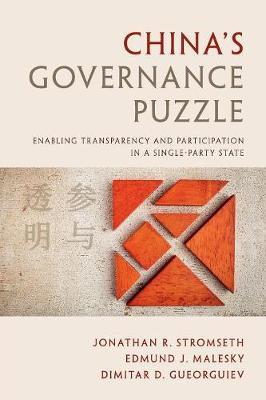 China's Governance Puzzle: Enabling Transparency and Participation in a Single-Party State