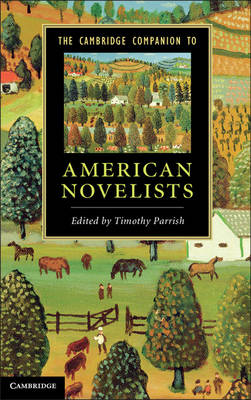 Cambr Comp American Novelists