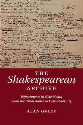 The Shakespearean Archive