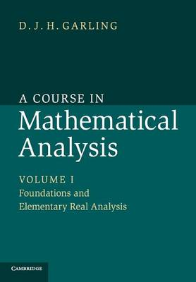 Course in Mathematical Analysis v1