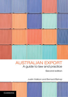 Australian Export: A Guide to Law and Practice