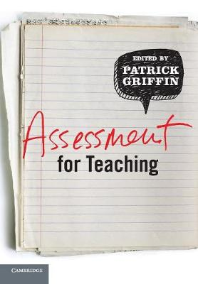 Assessment for Teaching 1ed