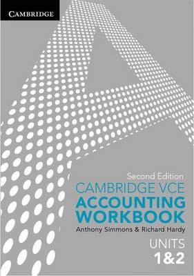 Cambridge VCE Accounting Units 1&2 Workbook