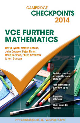 Cambridge Checkpoints VCE Further Mathematics 2014