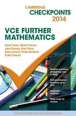 Cambridge Checkpoints VCE Further Mathematics 2014