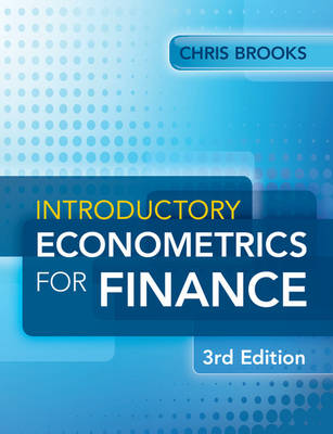 Introductory Econometrics for Finance 3E