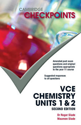 Cambridge Checkpoints VCE Chemistry Units 1&2