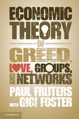 Economic Thy Greed Love Grps Netwks
