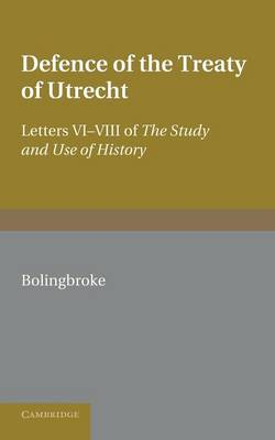 Defence of the Treaty of Utrecht