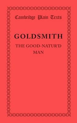 The Good-Natur'd Man