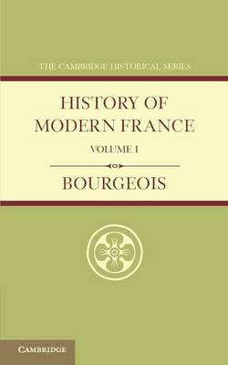 History of Modern France v1