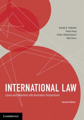 International Law: Cases and Materials with Australian Perspectives