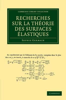 Recherches theorie surfaces elastiq