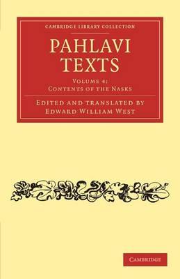 Pahlavi Texts vol 4