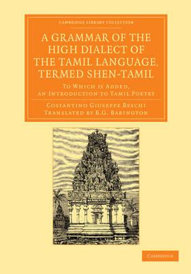 Gramm High Dlct Tamil Lang Shen-Tam