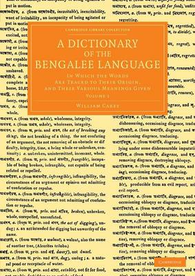 Dictionary Bengalee Language v1
