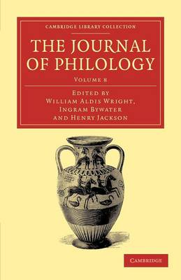 The Journal of Philology v8