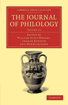 The Journal of Philology v16