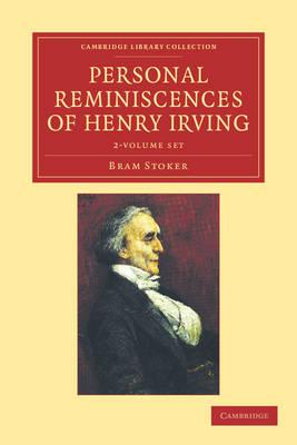 Personal Reminisc Henry Irving 2vs