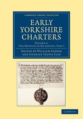Early Yorkshire Charters vol 4